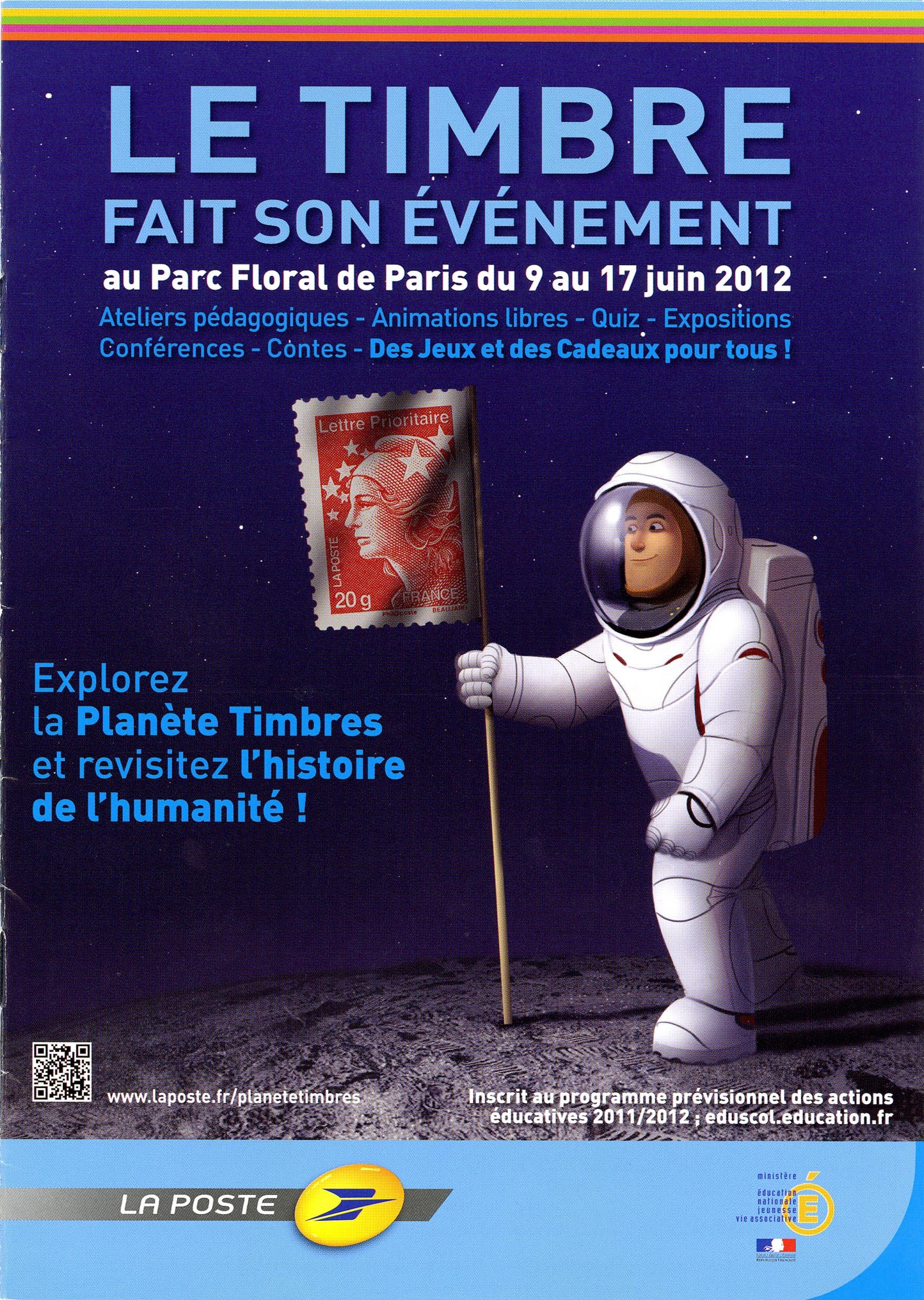6ème Édition du Salon PLANÈTE TIMBRES 2012