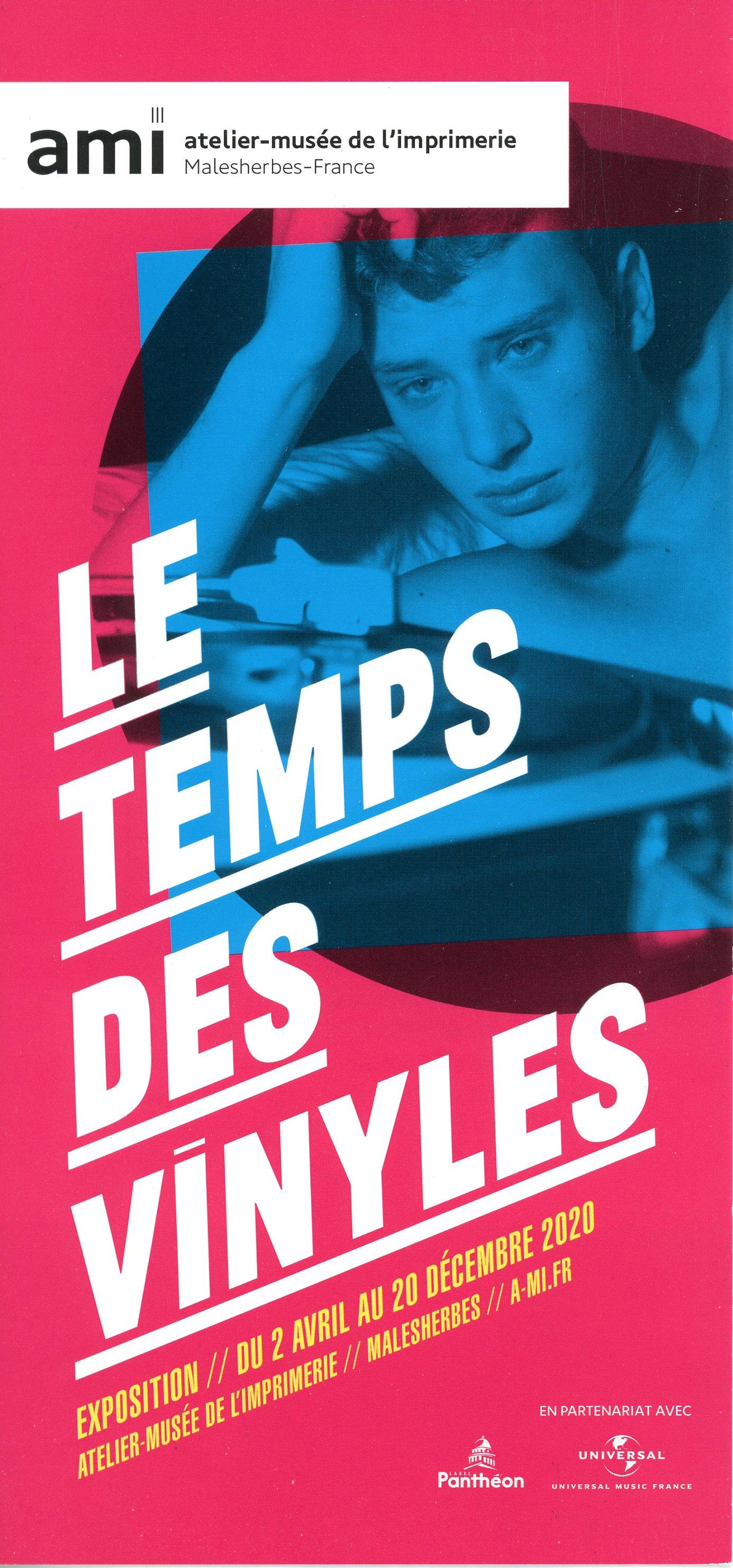 Exposition Le Temps des Vinyles